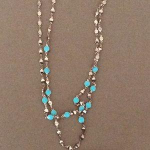 Adriana orsini brushed gold layered necklace